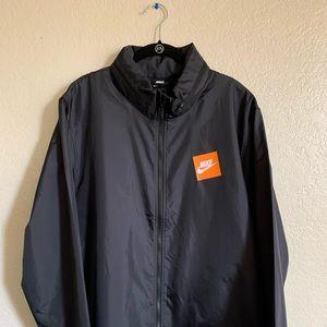 Nike jacket with hiding hood